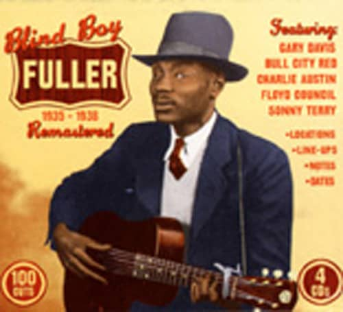 Blind Boy Fuller (4-CD Box)