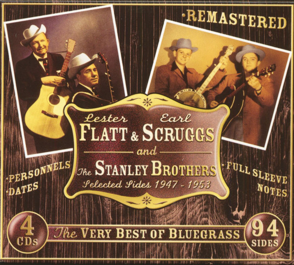 The Very Best Of Bluegrass - Selected Sides 1947-1953 (4-CD)