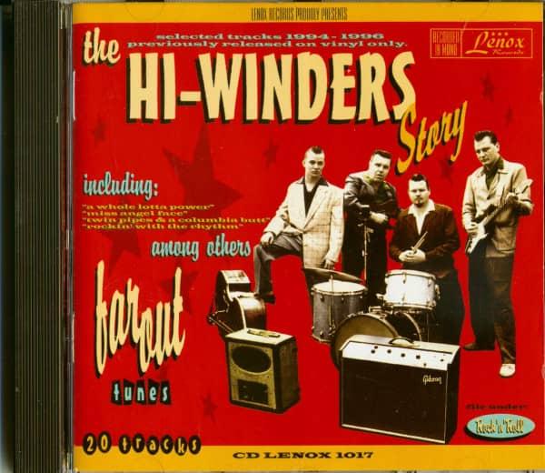 The Hi-Winders Story (CD)
