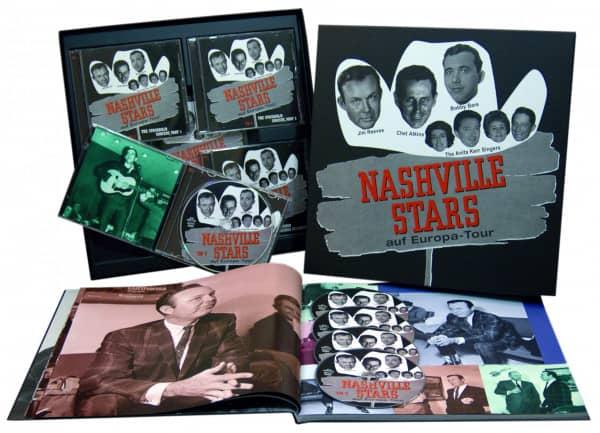 Nashville Stars On Tour (4-CD - 1-DVD Deluxe Box Set)