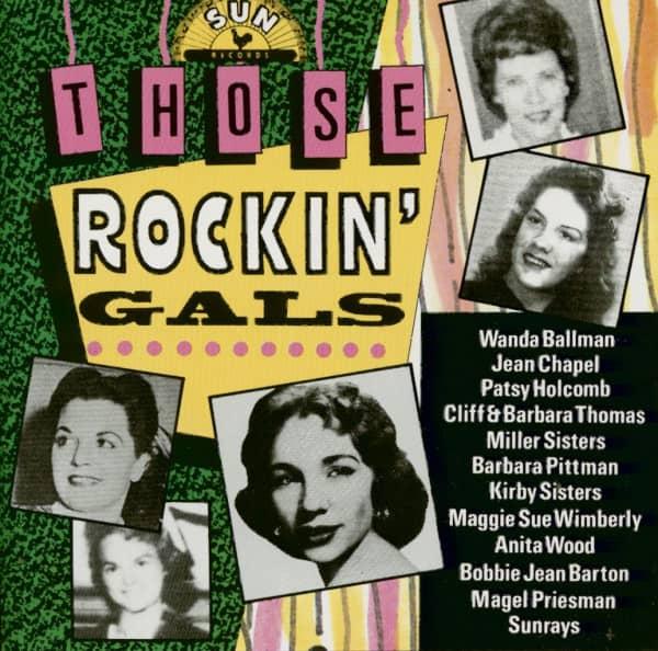 Those Rockin' Gals (CD)