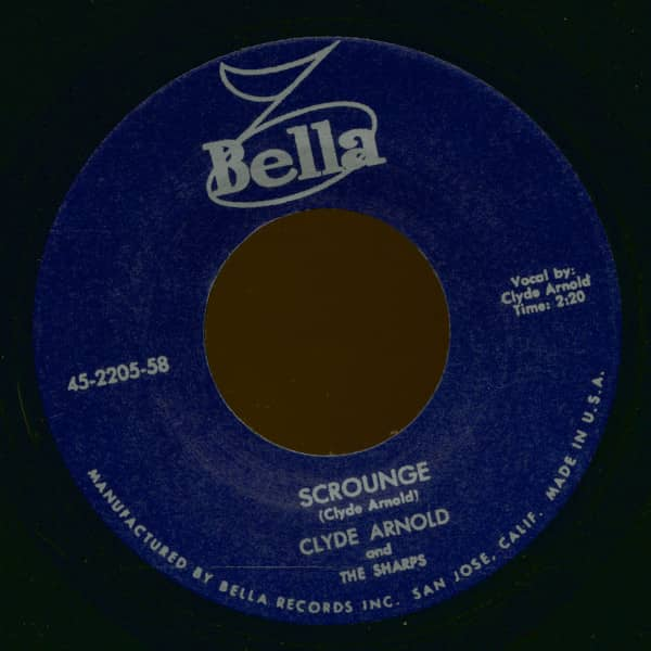 Scrounge - I've Got A Baby (7inch, 45rpm)