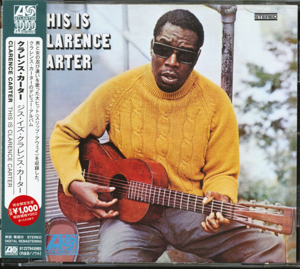 This Is Clarence Carter (CD, Japan)