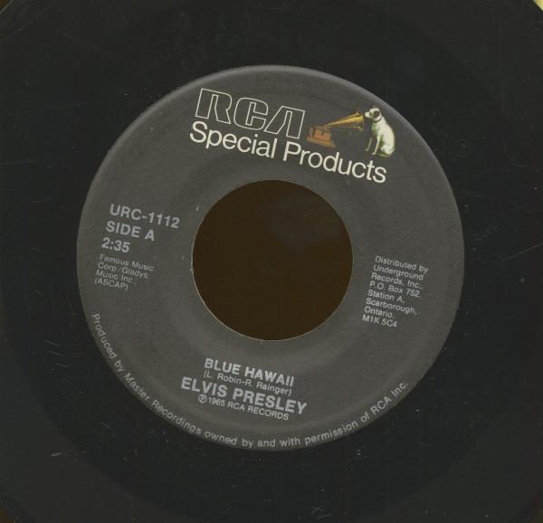 Blue Hawaii - Hawaiian Wedding Song (7inch, 45rpm)