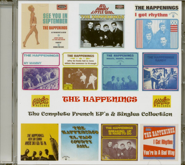 The Complete French EP's & Singles Collection (CD)