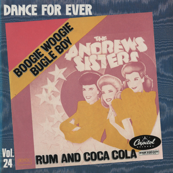 Boogie Woogie Bugle Boy - Rum & Coca...7inch, 45rpm, PS