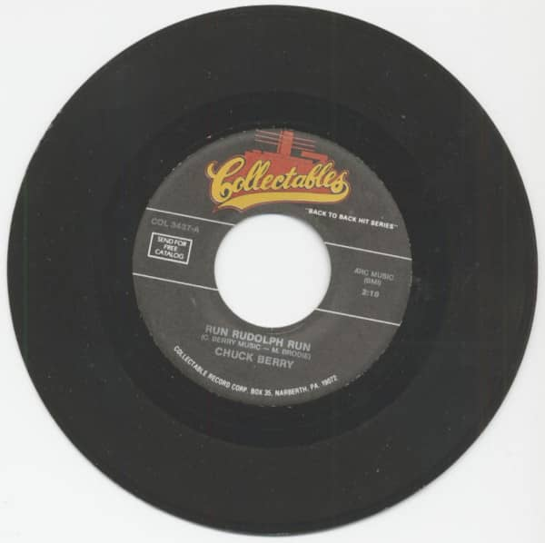 Run, Rudolph, Run - Merry Christmas Baby (7inch, 45rpm)