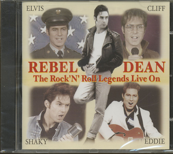 The Rock 'n' Roll Legends Live On (CD)