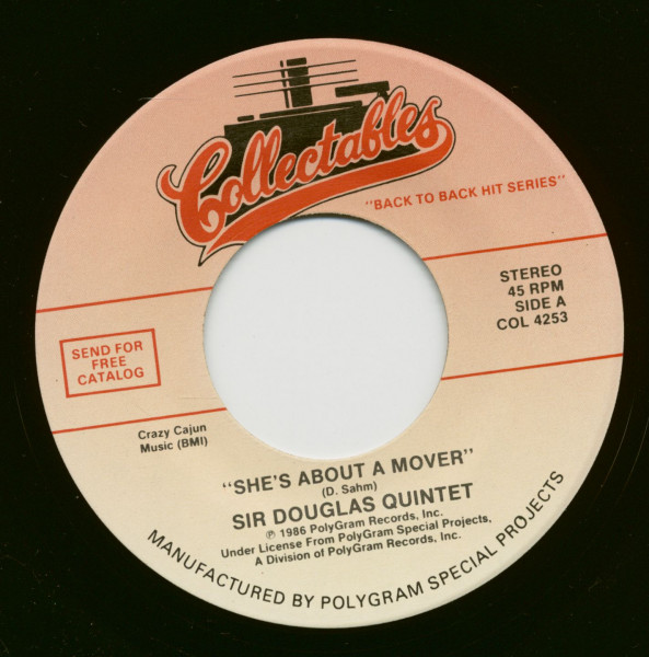 She's About A Mover - Mendocino (7inch, 45rpm)