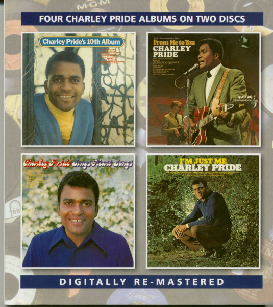 Charley Pride's 10th Album, From Me To You, Sings Heart Songs, I'm Just Me (2-CD)