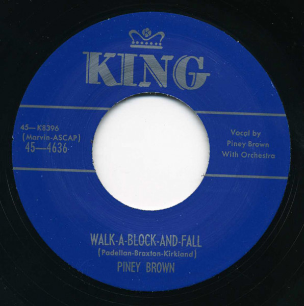 Eggs And Grits - Walk-A-Block-And-Fall 7inch, 45rpm