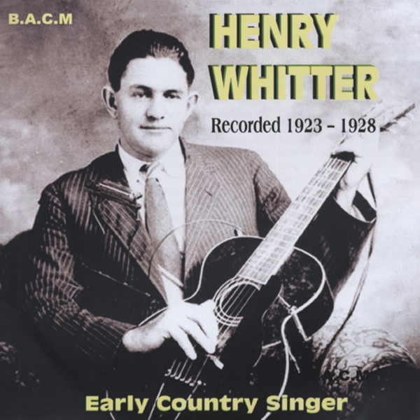 Early Country Singer