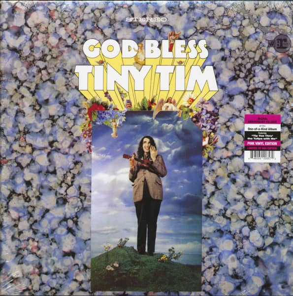 God Bless Tiny Tim (LP, Pink Vinyl, Ltd.)
