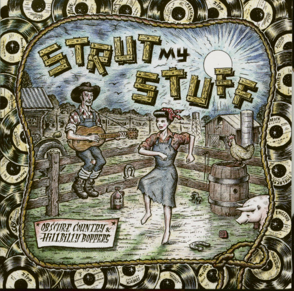 Strut My Stuff - Obscure Country & Hillbilly Boppers (CD)