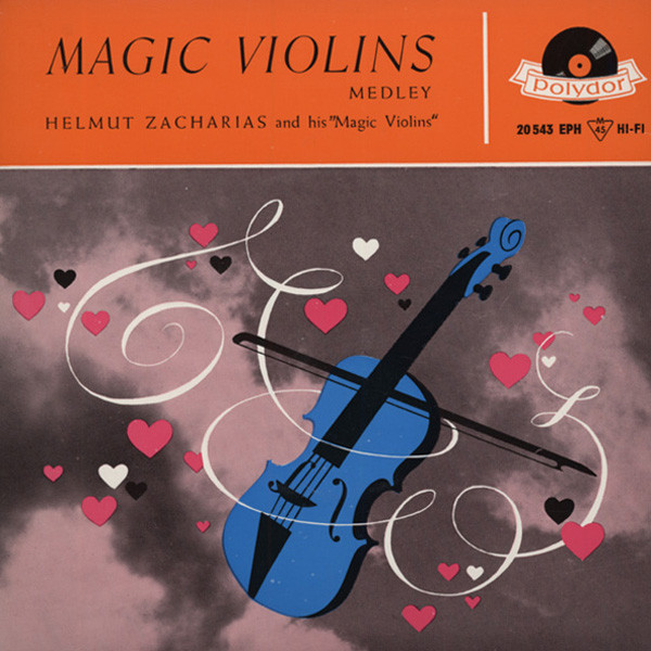 Magic Violins Medley 7inch, 45rpm, EP Bildhülle