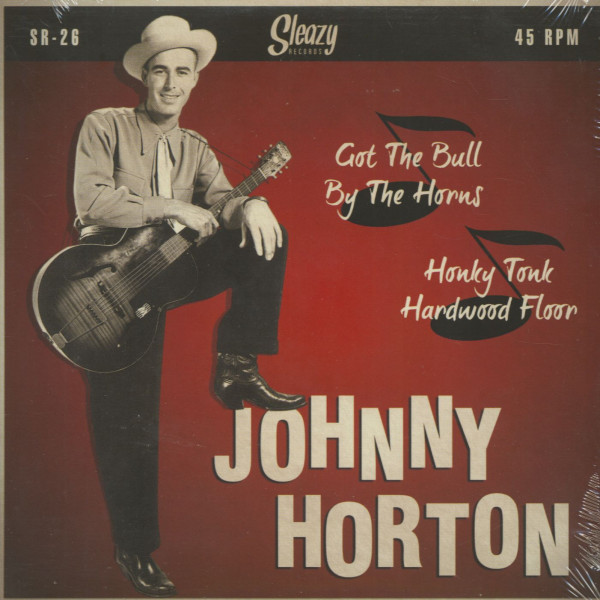 Got The Bull By The Horns - Honky Tonk Hardwood Floor (7inch, 45rpm, PS)