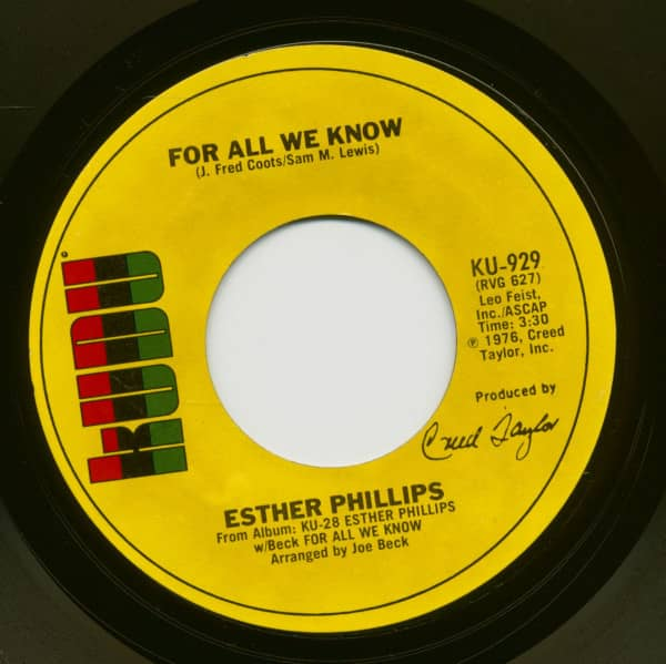 For All We Know - Fever (7inch, 45rpm)
