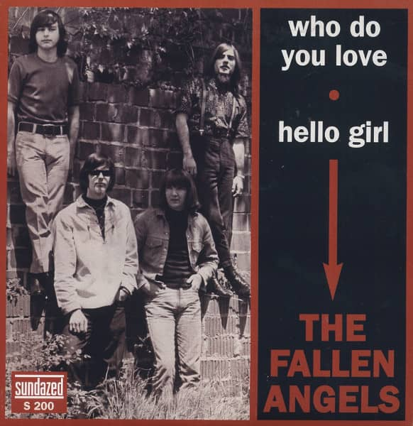 Who Do You Love - Hello Girl 7inch, 45rpm, PS
