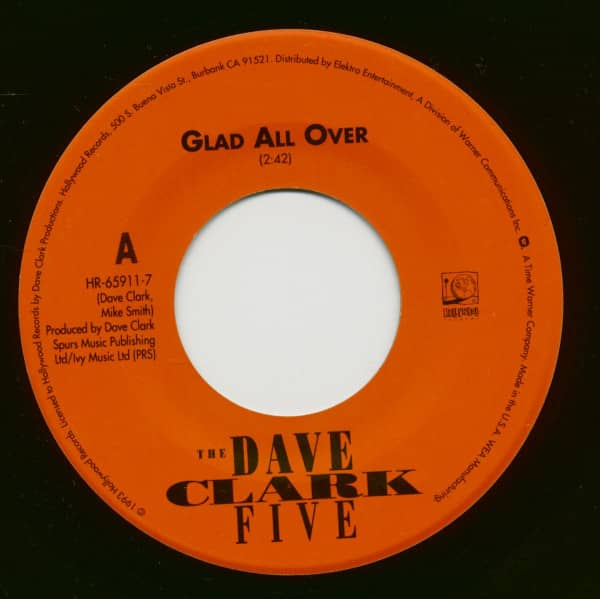 Glad All Over - Bits And Pieces (7inch, 45rpm)