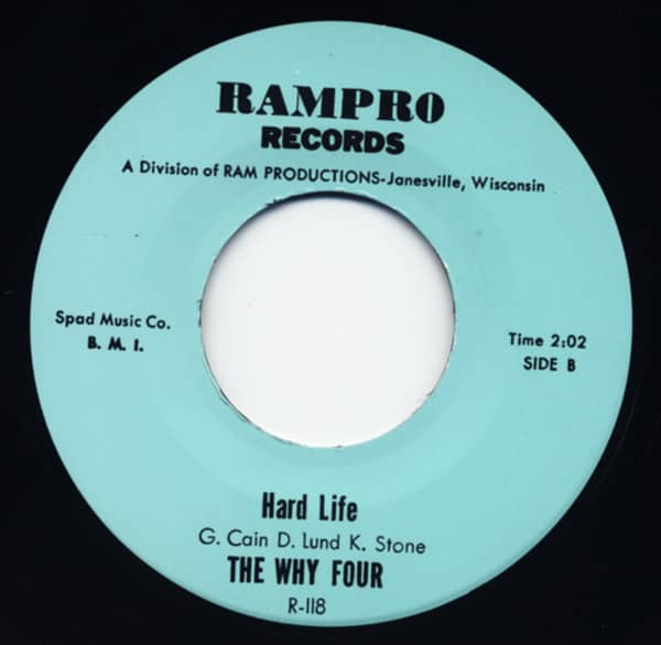 Not Fade Away - Hard Life 7inch, 45rpm