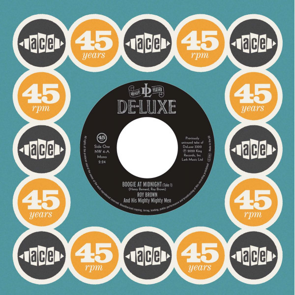 Boogie At Midnight (Take 1) / Lawdy Miss Clawdy (Take 1) (7inch, 45rpm)