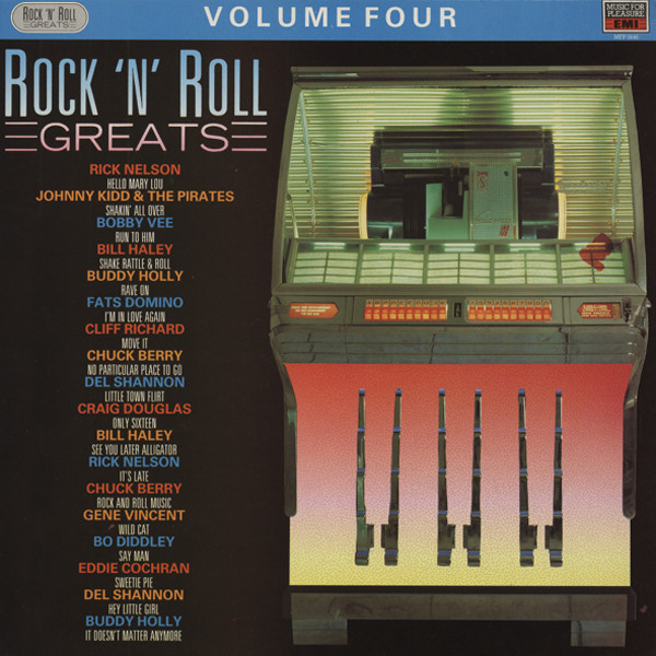Rock 'n' Roll Greats, Vol.4 (LP)