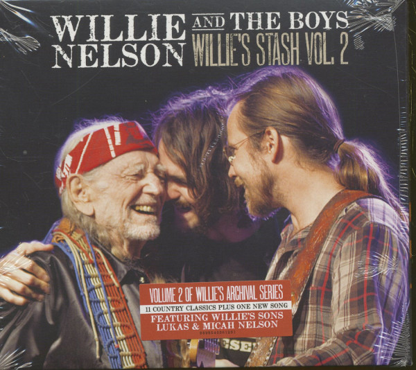 Willie's Stash, Vol.2 (CD)