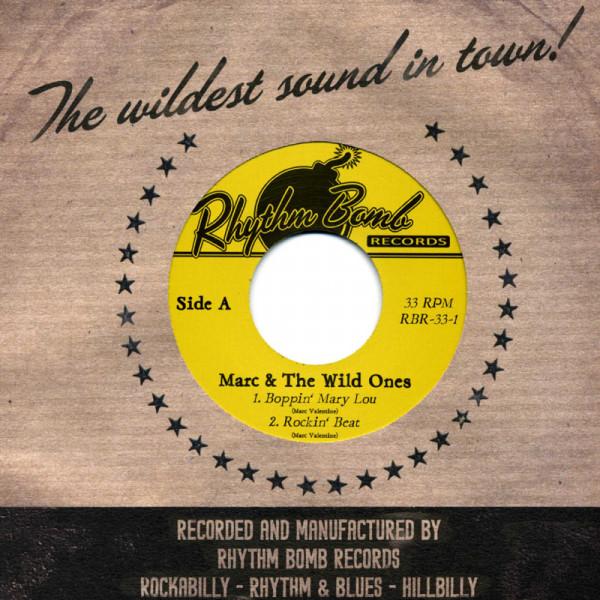 Boppin' Mary Lou ..plus 3 tracks 33rpm, EP