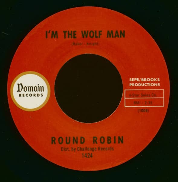 I'm The Wolf Man - Sit And Dance (7inch, 45rpm)