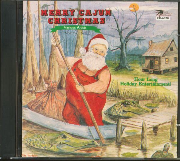 Cajun Christmas.Various Merry Cajun Christmas Cd