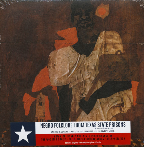 Negro Folklore From Texas State Prisons (LP & Download Code)