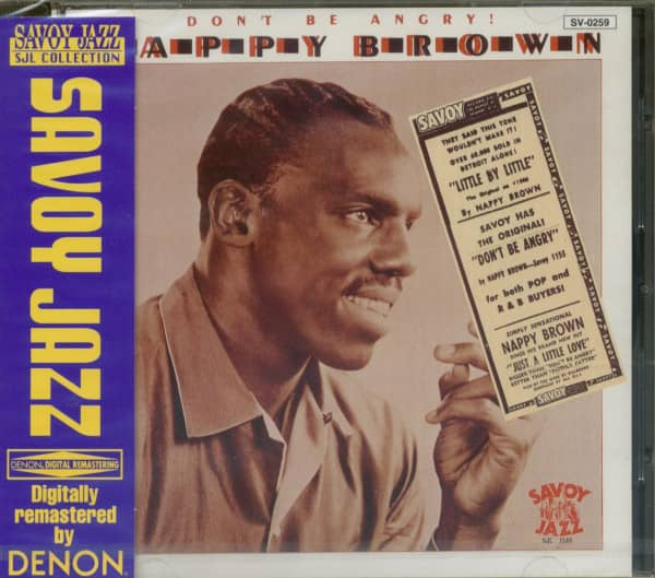 Don't Be Angry (CD)