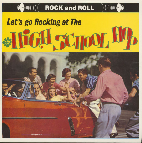 Let's Go Rocking At The High School Hop (LP)