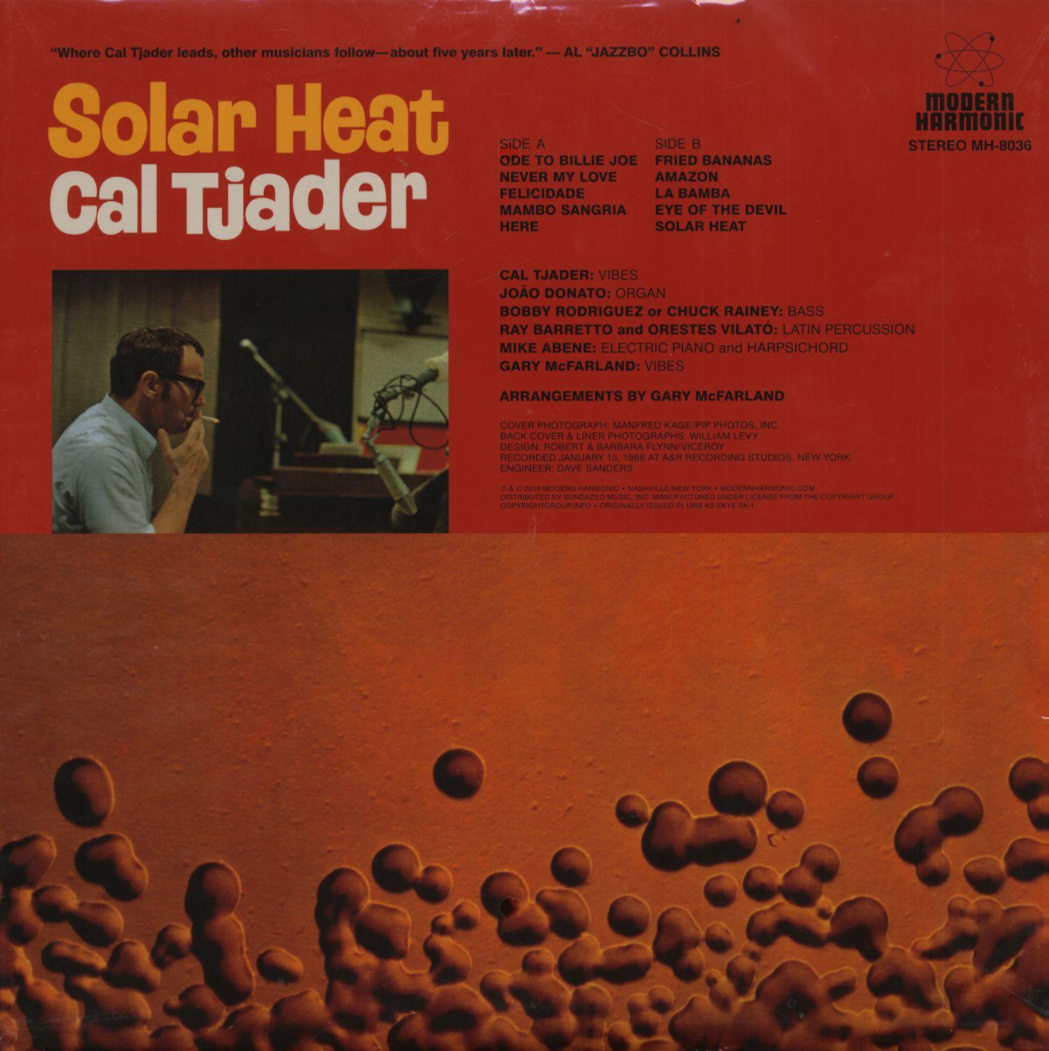 Cal Tjader Solar Heat (LP)