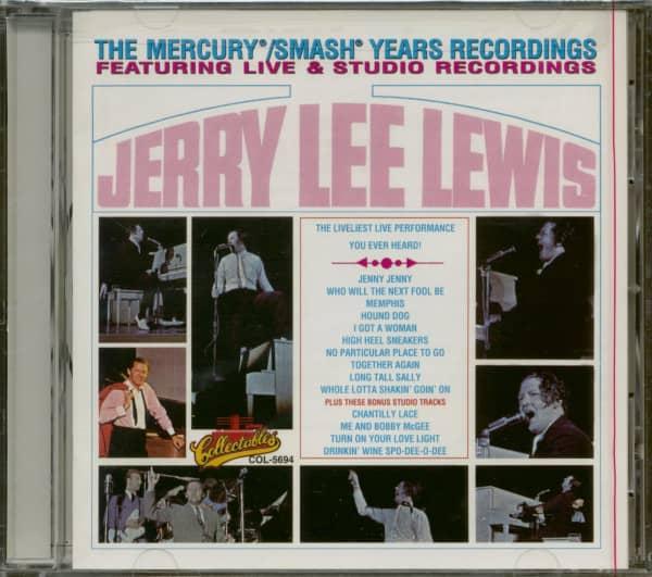 The Mercury & Smash Years Recordings - Featuring Live & Studio Recordings (CD)