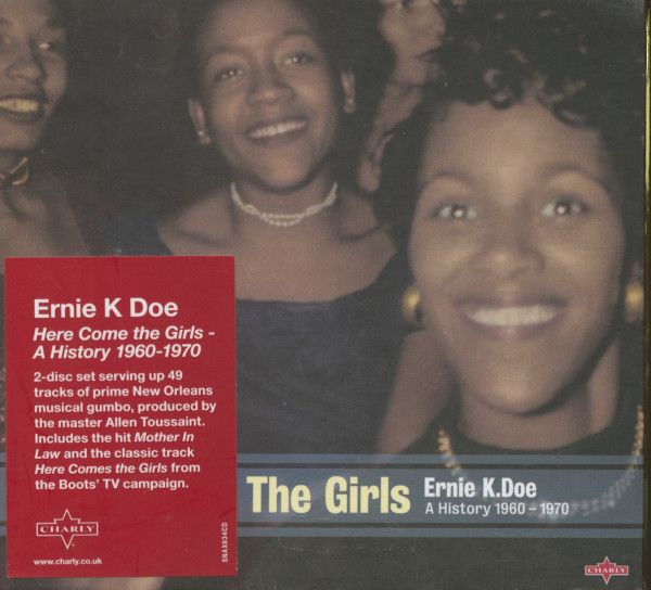 Here Come The Girls! A History 1960-70 (2-CD)