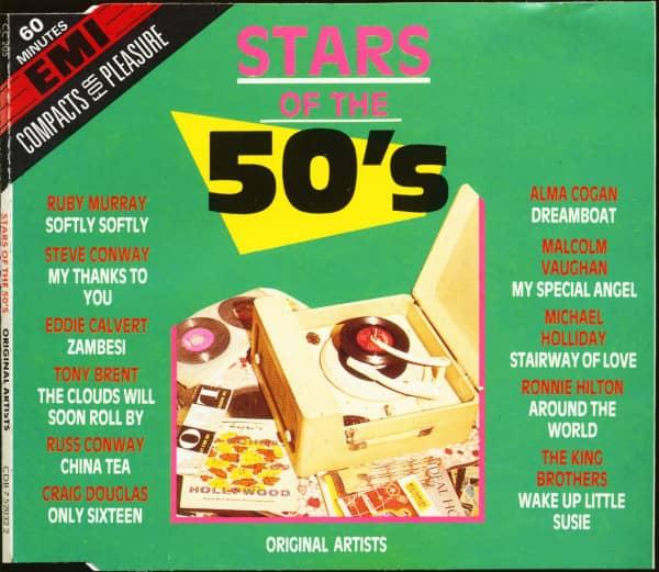 Stars Of The 50's (CD)