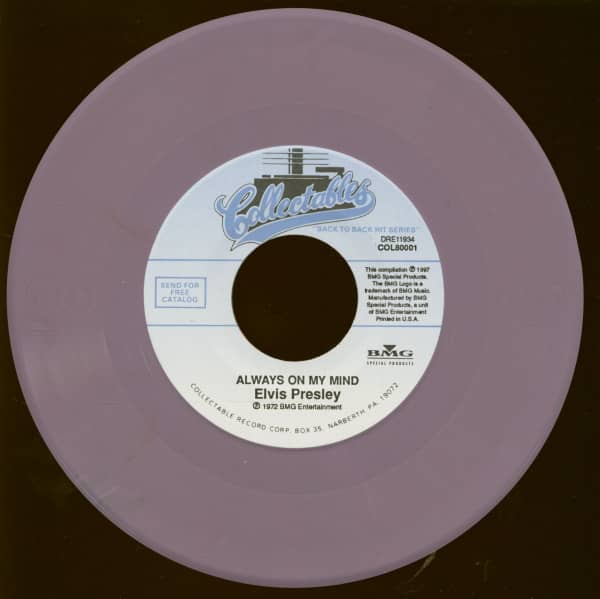 Always On My Mind - Seperate Ways (7inch, 45rpm)