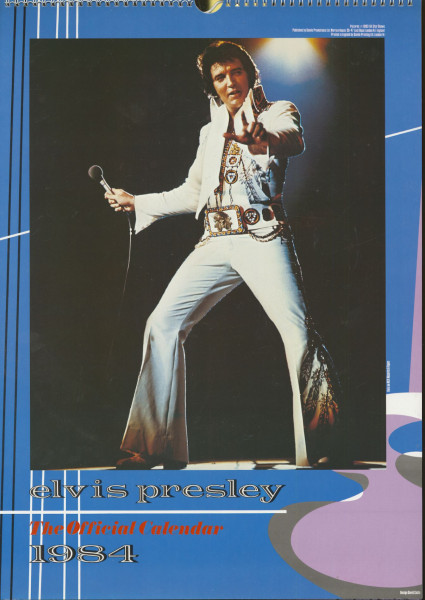 Elvis Presley - The Official 1984 Calendar