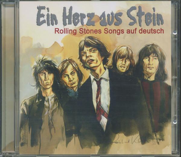Rolling Stones Auf Deutsch - Herz aus Stein (CD)