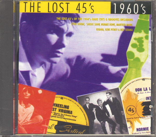 The Lost 45's - 1960's (CD)