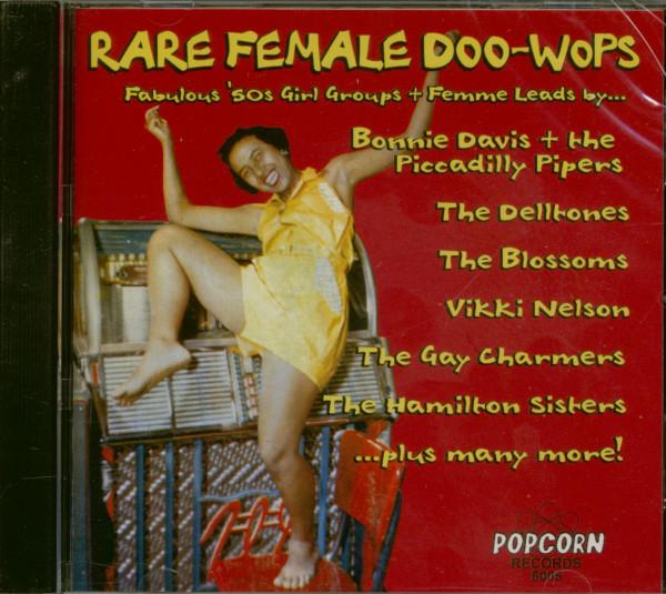 Rare Female Doo Wops (CD)