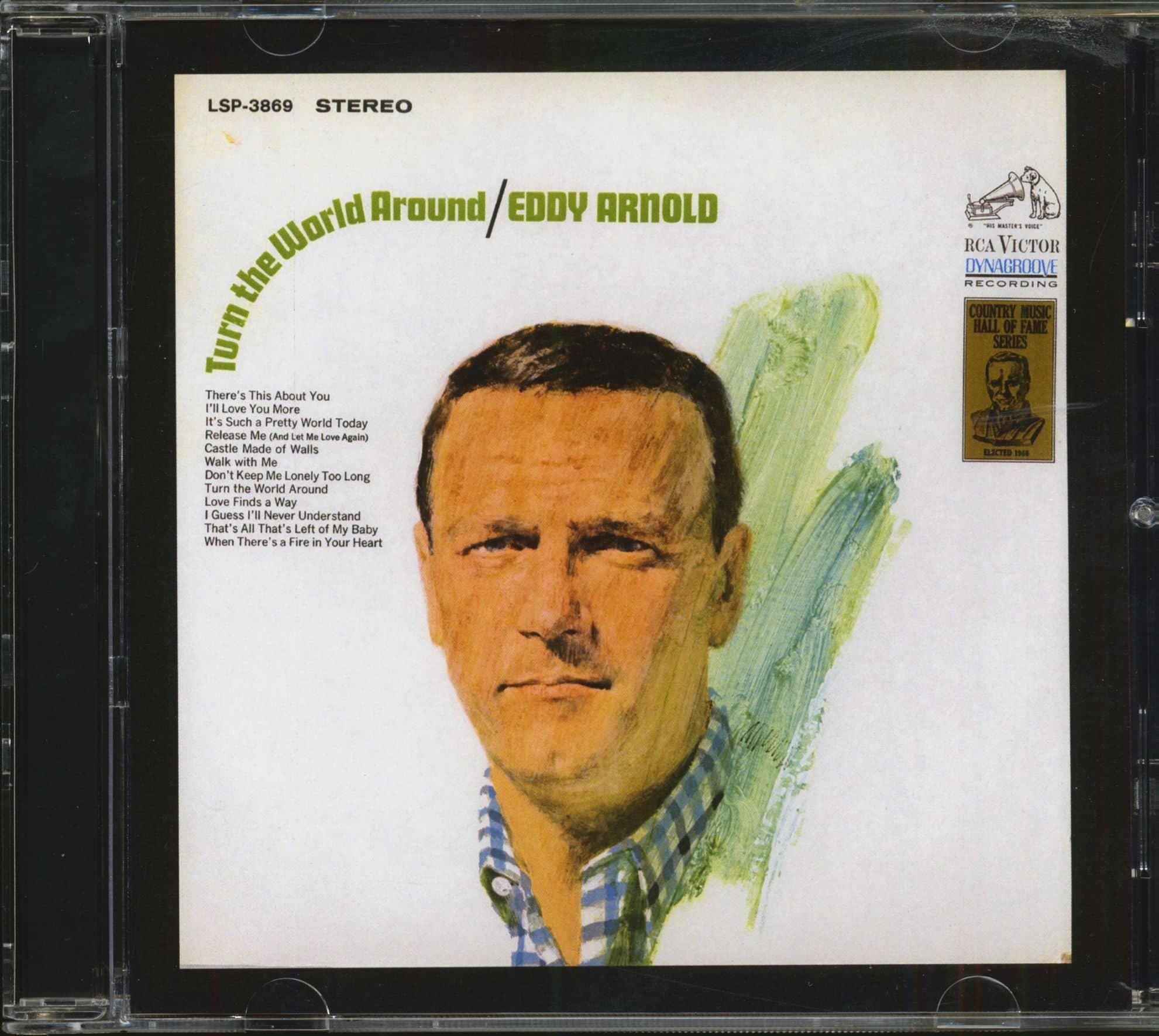 Eddy Arnold Cd Turn The World Around Cd Bear Family Records