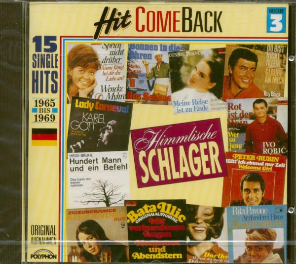 Hit Come Back - Himmlische Schlager Nr. 3 - 1965-1969 (CD)