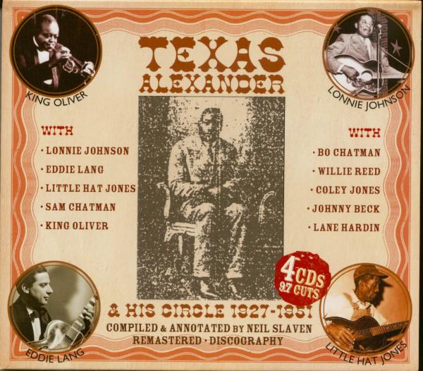 Texas Alexander & His Circle 1927-1951 (4-CD-Box)