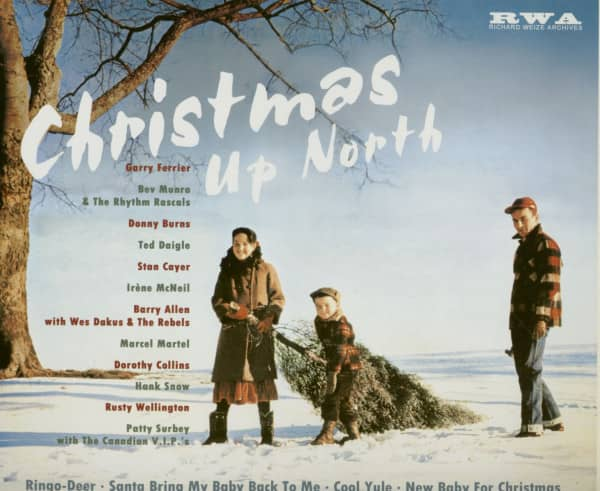 Christmas Up North (LP, 10inch)