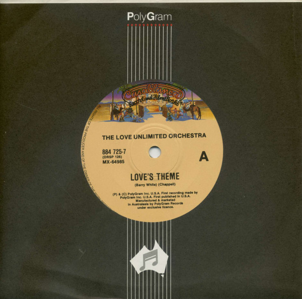 Love's Theme - The Little Drummer Boy (7inch, 45rpm, SC, CS)