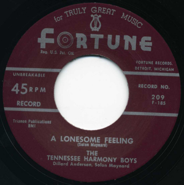 I'm A Millionaire - A Lonesome Feeling 7inch, 45rpm