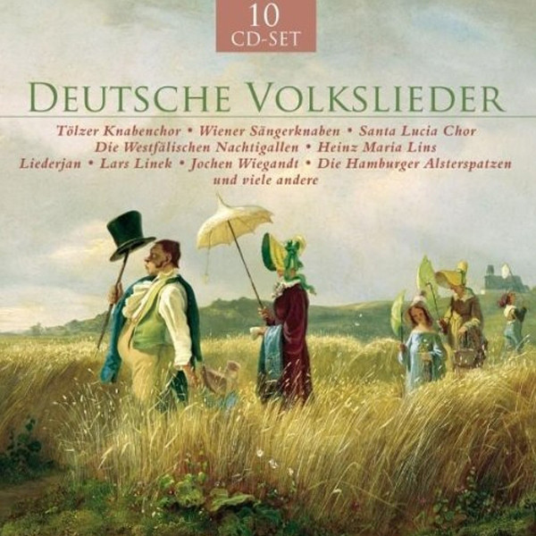 Deutsche Volkslieder (10-CD-Set)