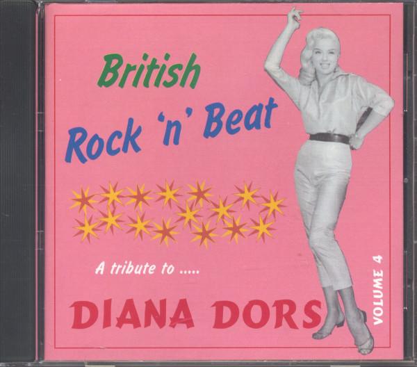 British Rock'n'Beat Vol.4 - A Tribute To Diana Dors (CD)
